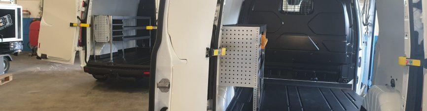 Bilinredning till skåpbil