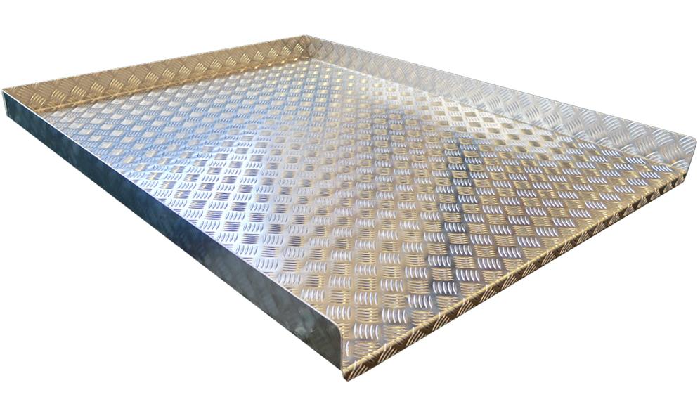 Golvskiva Lastsläde Durkaluminium 1080