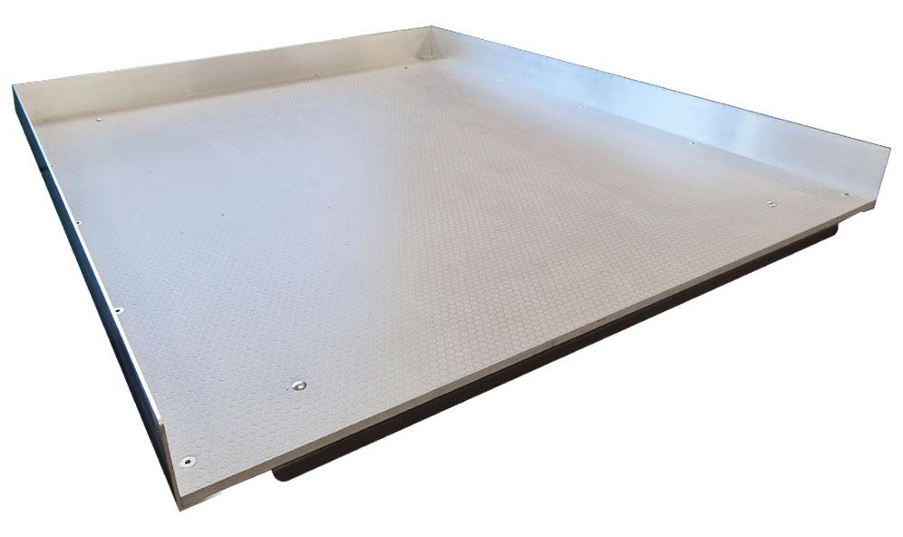 Golvskiva till Lastsläde i Trä med aluminiumsarg 1080